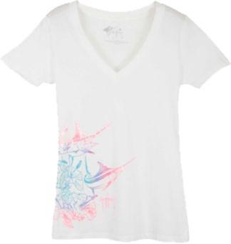 Guy Harvey Hibiscus Marlin Junior T-Shirt