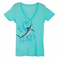 Guy Harvey Marlin Symphony Junior T-Shirt