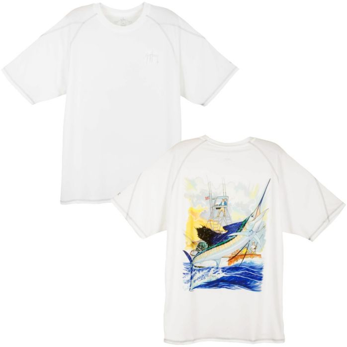 Guy Harvey Champion Sailfish Boat Performance T-Shirt