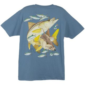 Guy Harvey Two Snook T-Shirt