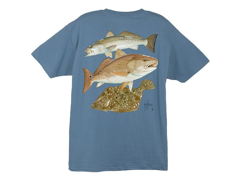 Guy Harvey Gulf Coast Collage T-Shirt