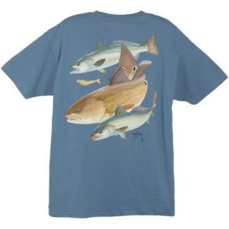 Guy Harvey Redfish Two Seatrout T-Shirt