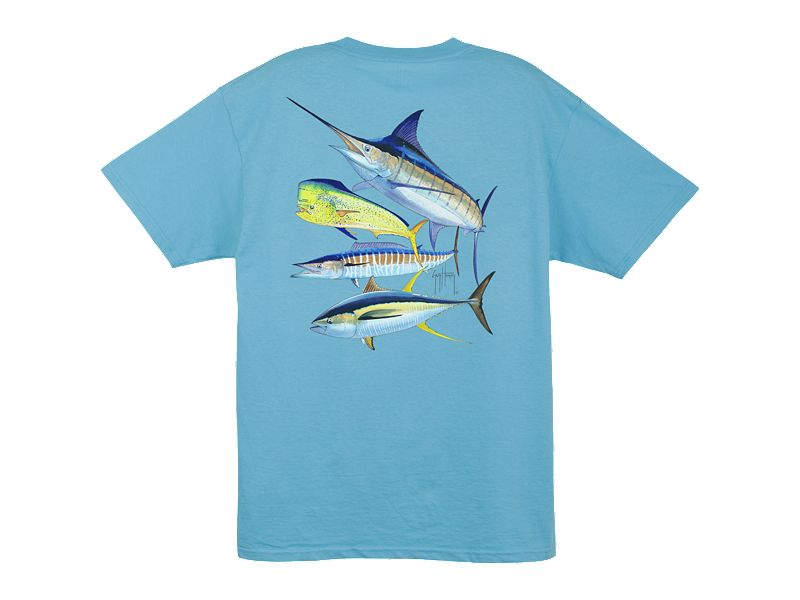 Guy Harvey Foursome T-Shirt