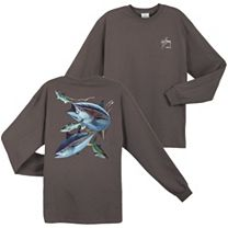 Guy Harvey Hungry Tuna Long Sleeve Shirt