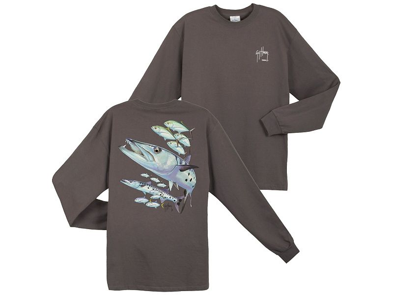 Guy Harvey Barracuda Long Sleeve Shirt