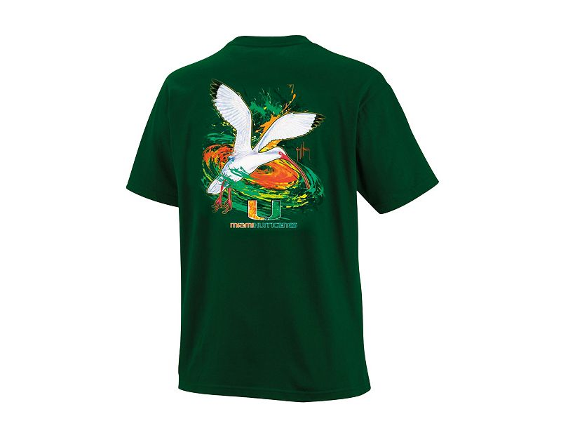 Guy Harvey Miami Hurricanes T-Shirt