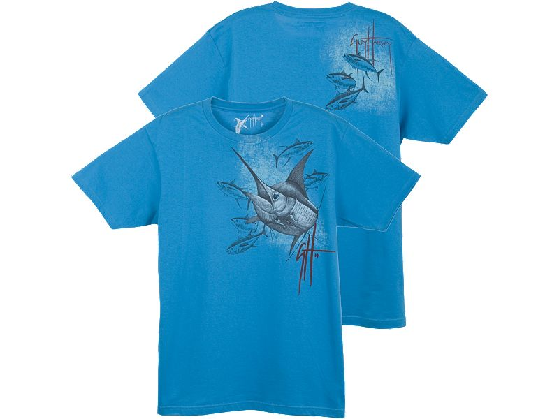 Guy Harvey Marlin and Yellowfin T-Shirt