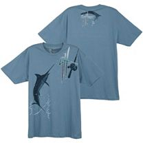 Guy Harvey Hooked Blue T-Shirt