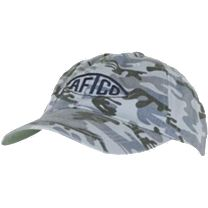 AFTCO Bluewater Washed Logo Hat