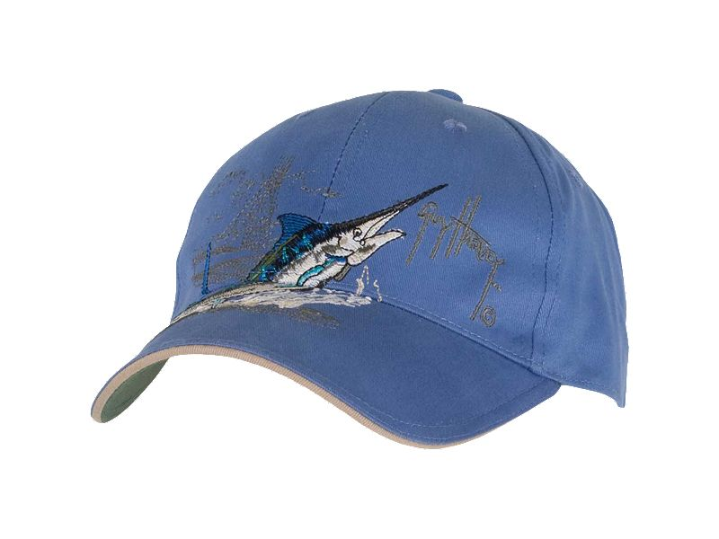 Guy Harvey Marlin Boat Hat