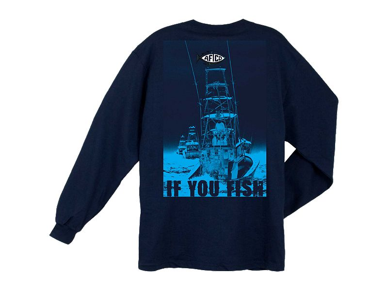 AFTCO Long Range Long Sleeve Shirt