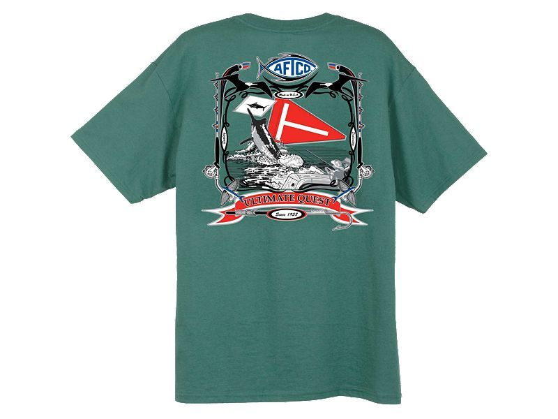 AFTCO Tag Flag T-Shirt