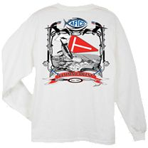AFTCO Tag Flag Long Sleeve Shirt