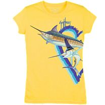 Guy Harvey Split Heart Swordfish Youth T-Shirt