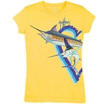 Guy Harvey Split Heart Swordfish Youth T-Shirt