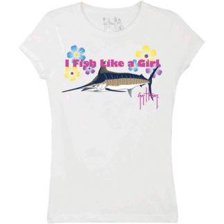 Guy Harvey Fish Like A Girl Youth T-Shirt