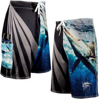 Guy Harvey Stripo Boardshorts