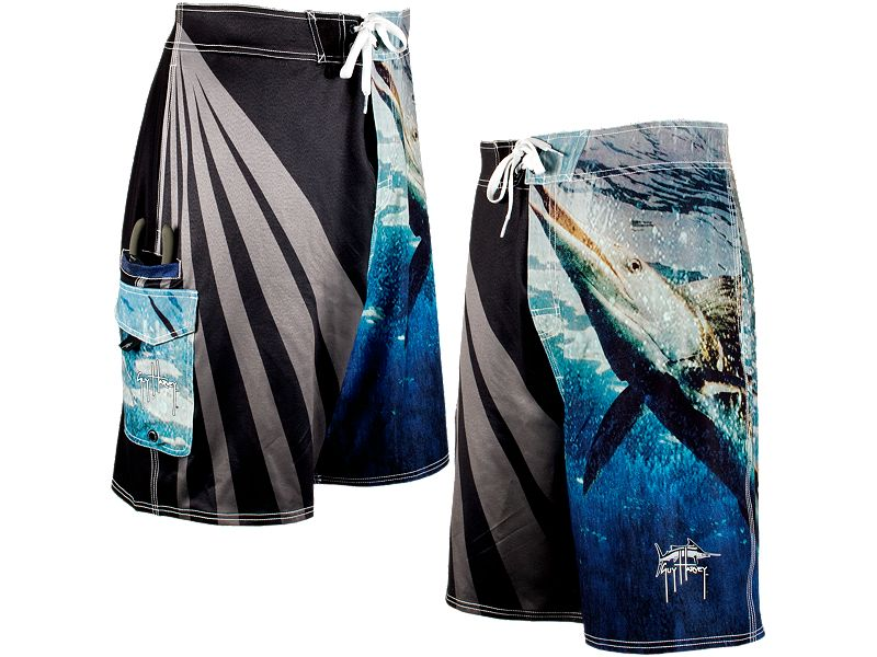 Guy Harvey Stripo Boardshorts