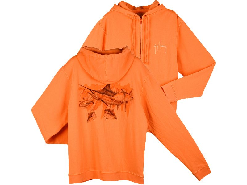 Guy Harvey Vintage Scatter Hoody