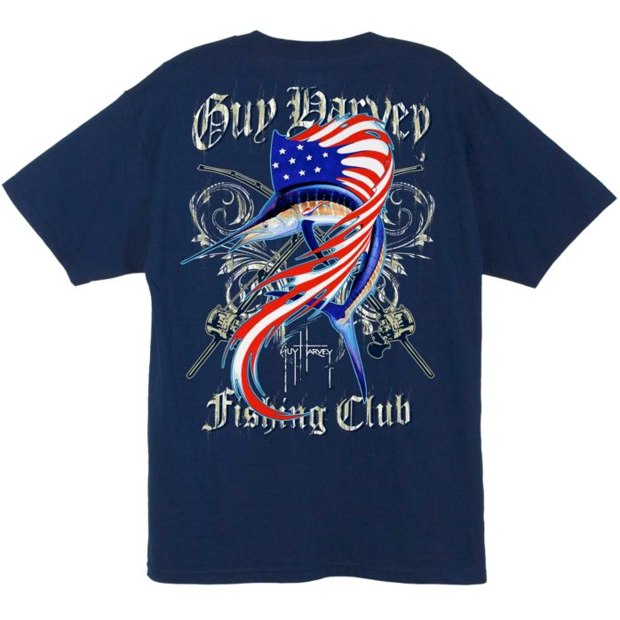 Guy Harvey Sailfish Fishing Club T-Shirt