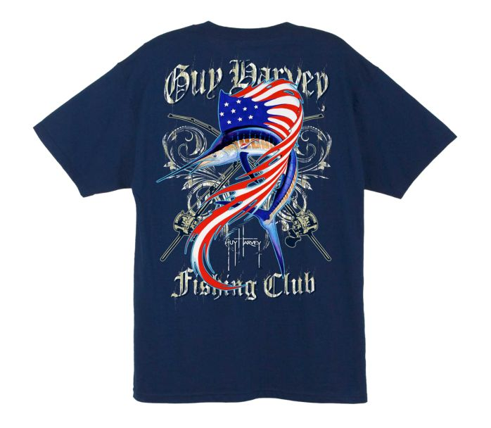 Guy harvey sailfish fishing club t shirt for Fishing team shirts