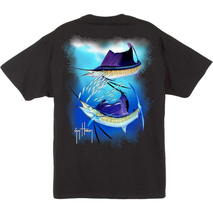 Guy Harvey Sailfish Spiral T-Shirt