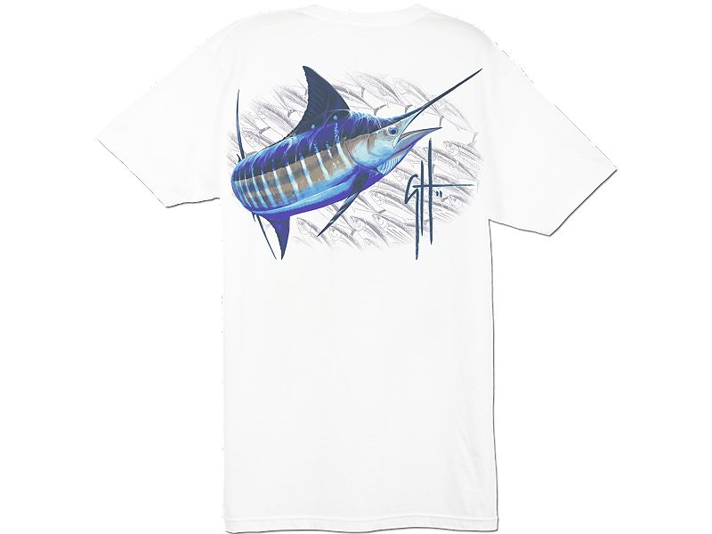 Guy Harvey Running Back T-Shirt