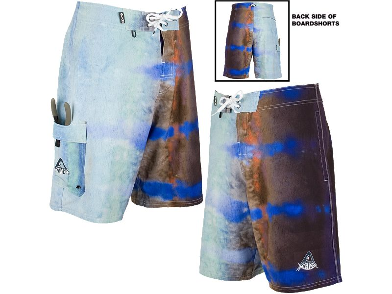 AFTCO Blue Marlin Boardshorts