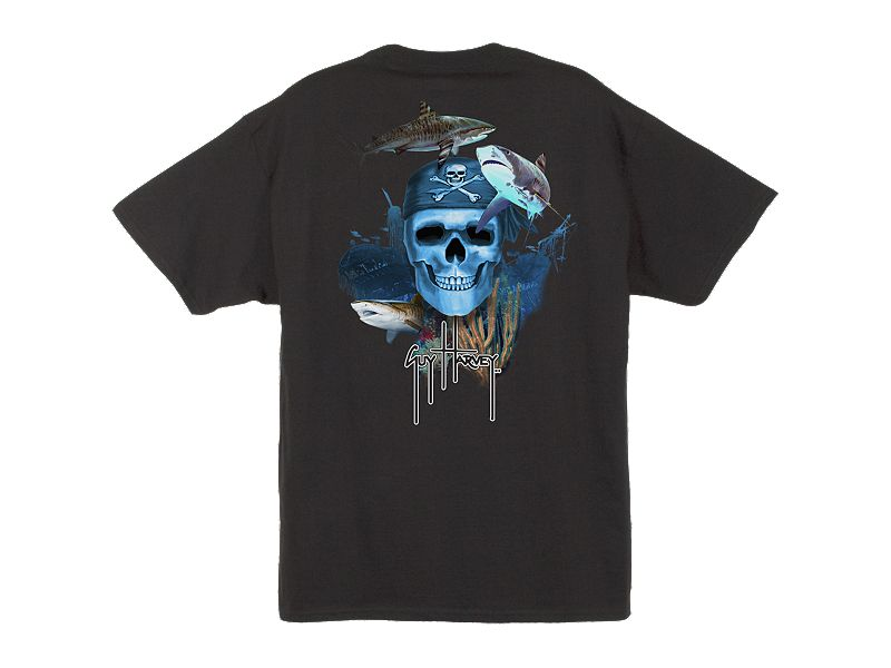 Guy Harvey Pirate Reef T-Shirt