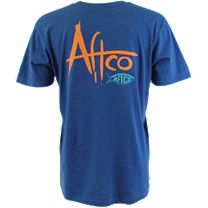 AFTCO Brush Logo T-Shirt