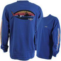 AFTCO Sunset Logo Long Sleeve Shirt