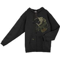 AFTCO Tribal Marlin Fleece Hoody