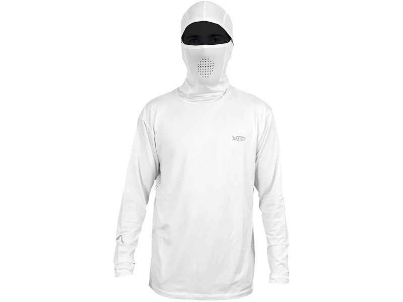 AFTCO Fish Ninja Ultra Performance Long Sleeve Shirt w/Hood