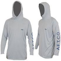 AFTCO Samurai Hooded Performance Long Sleeve Shirt