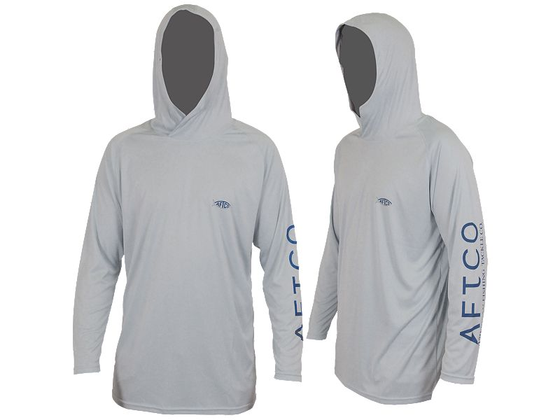 AFTCO Samurai Hooded Performance Long Sleeve Shirt