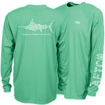 AFTCO Jigfish Performance Long Sleeve Shirt