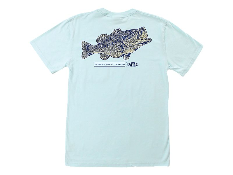 AFTCO Large and In Charge Pocket T-Shirt