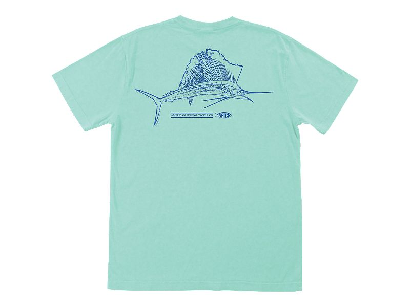 AFTCO Sailsketch Pocket T-Shirt