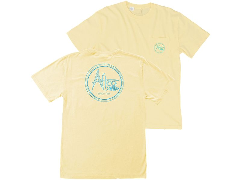 AFTCO Scribble Pocket T-Shirt