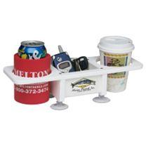 Deep Blue Marine 2 Drink Holder w/Box & Suction Cups