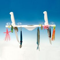 Deep Blue Marine Lure Rack