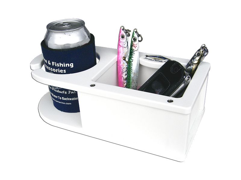 Deep Blue Marine MB-1 1 Drink Holder & Storage w/Suction Cups