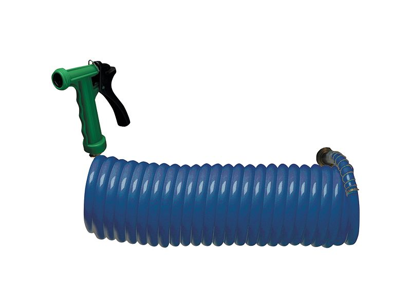 Melton Tackle Coil Hose w/Nozzle