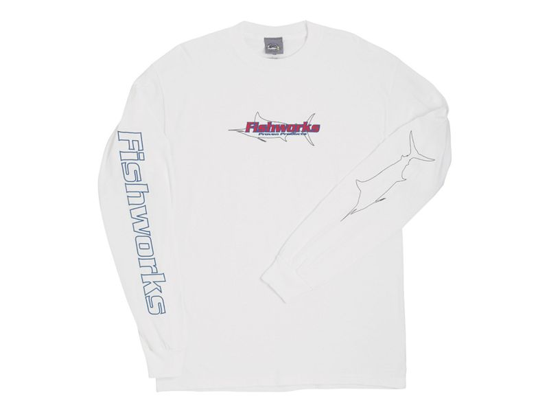 Fishworks Marlin Outline Long Sleeve Shirt