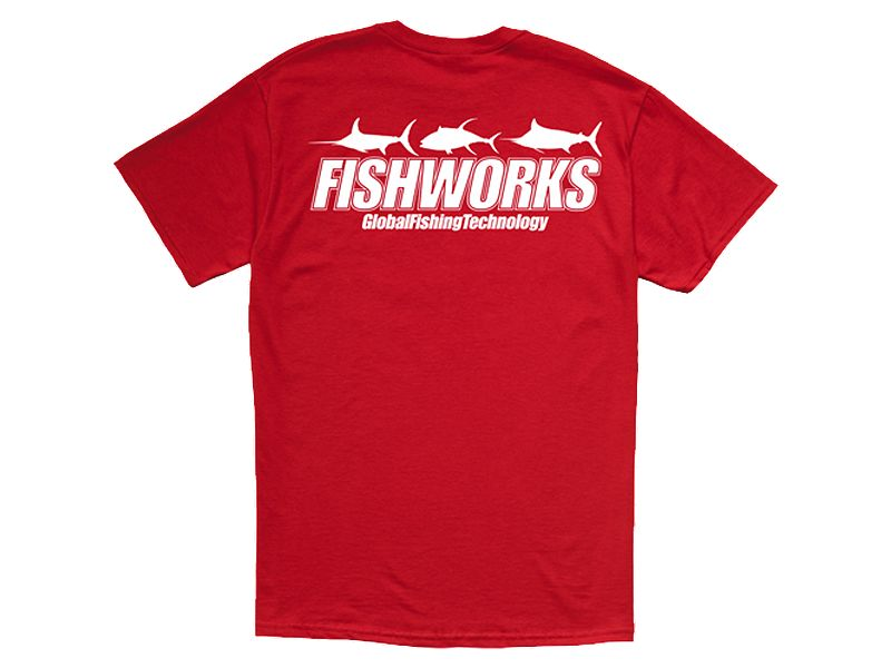Fishworks 3 Fish Impact Short Sleeve T-Shirt