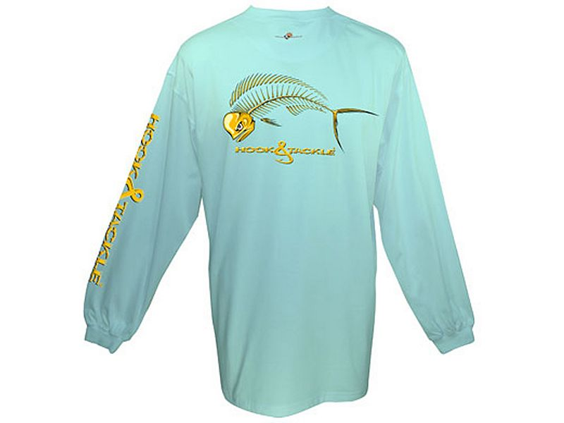 Hook & Tackle Bull Dolphin X-Ray Solar System Long Sleeve Shirt