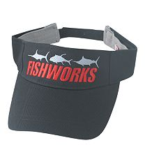 Fishworks 3 Fish Impact Visor - Black