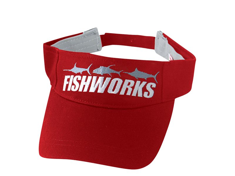 Fishworks 3 Fish Impact Visor