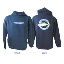 Fishworks Corporate Logo Tuna Hooded Sweatshirt