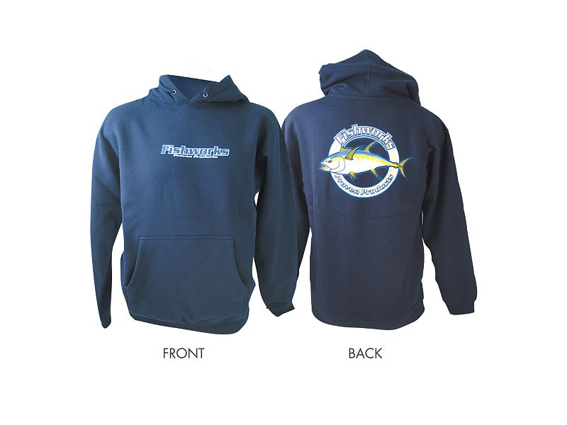 Fishworks Corporate Tuna Hooded Sweatshirt